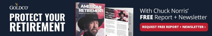Chuck Norris Ad Banner for GoldCo
